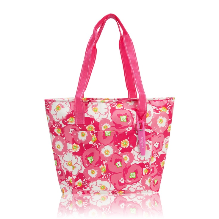 The cutest insulated cooler ever: this Lilly Pulitzer bag in Scarlet BegoniaLilly Pulitzer, Belle Summer, Lilly Girls, Insulators Coolers, Pulitzer Scarlet, Scarlet Begonia, Begonia Beach, Beach Coolers, Pulitzer Bags