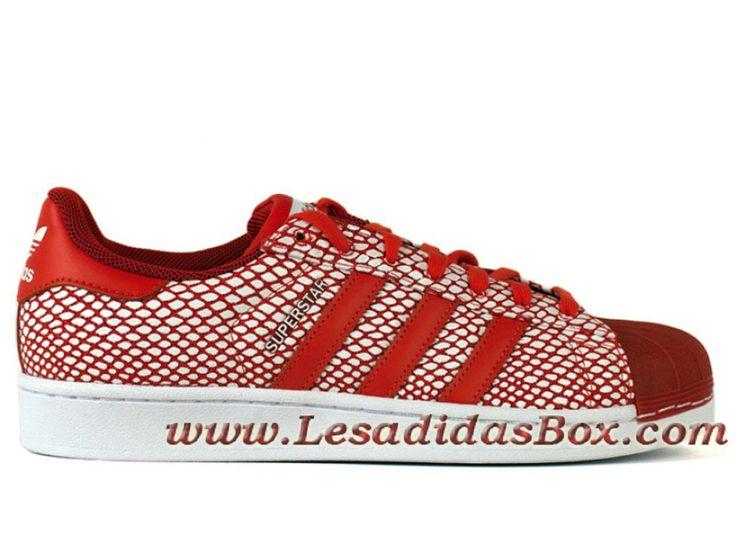 photos officielles 39a6e 88796 Adidas Superstar Snake Red ChaussureAdidasonlineoutlet.fr