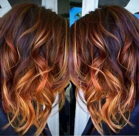 Plus de 38 idées de coiffures de couleur rouge