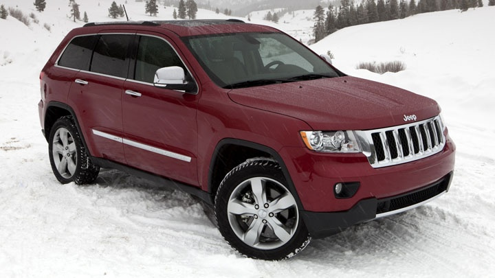 My next car...2012 Jeep Grand Cherokee Overland in Brilliant Black