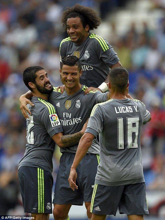Espanyol 0-6 Real Madrid #halamadrid