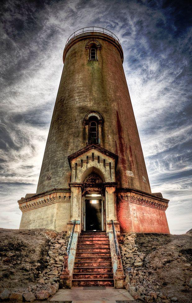 Piedras Blancas Lighthouse in San Simeon, California http://www.visitcalifornia.com/Explore/Central-Coast/