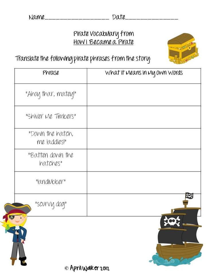 pirate phrases