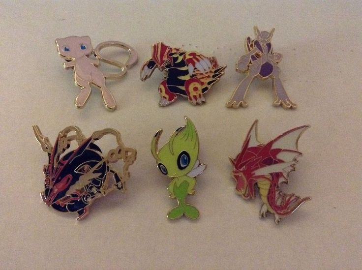 Pokemon Official Collector Pin Lot of 6 Shiny Rayquaza Gyarados Groudon and More | eBay