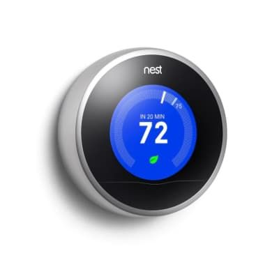 Best Christmas Gift for Techies: The Nest Learning Thermostat