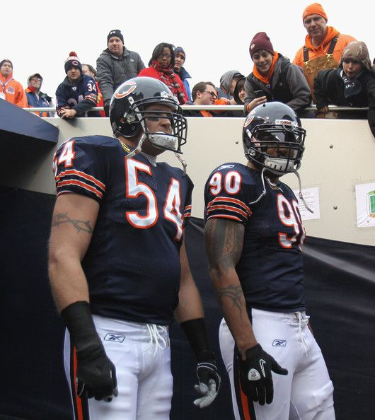 Brian Urlacher and Julius Peppers