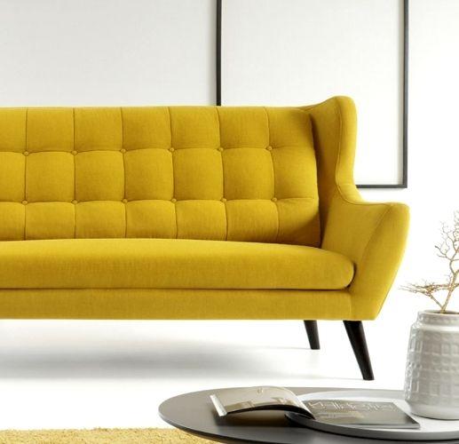Żółta i stylowa Sofa Henry #TwojeMeble #TwojaSofa #Sofa #HENRY #EtapSofa