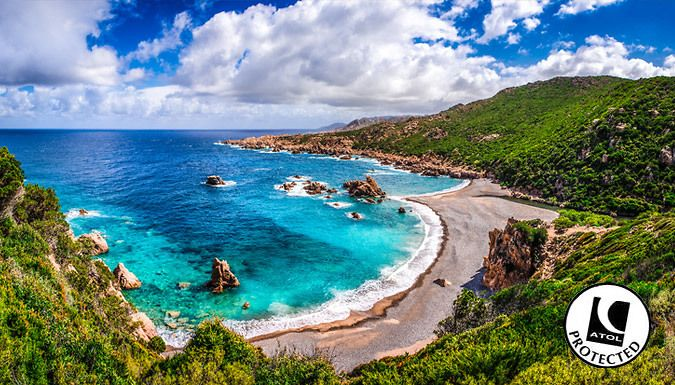 UK Holidays: Sardinia, Italy: 2-4 Night 4* Spa Resort Stay With Flights & Breakfast - Up to 23% Off for just: £139.00 Indulge in the ultimate rejuvenation break abroad with a 2-4 night stay in Sardinia      Kick back in an en suite room at the 4* Geovillage Sport Wellness  and  Convention Resort      Arise to the included breakfast and enjoy Michelin-starred food in the on-site restaurants   ...