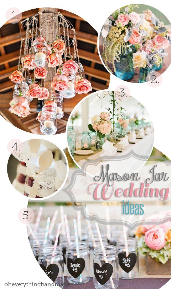 Mason Jar Wedding ideas for 2014