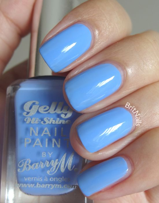 Barry M Gelly Nail Paint Collection BLUEBERRY - just bought this today. Might give it a go later