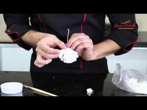 Como Fazer Pasta e Flores de Açúcar - YouTube