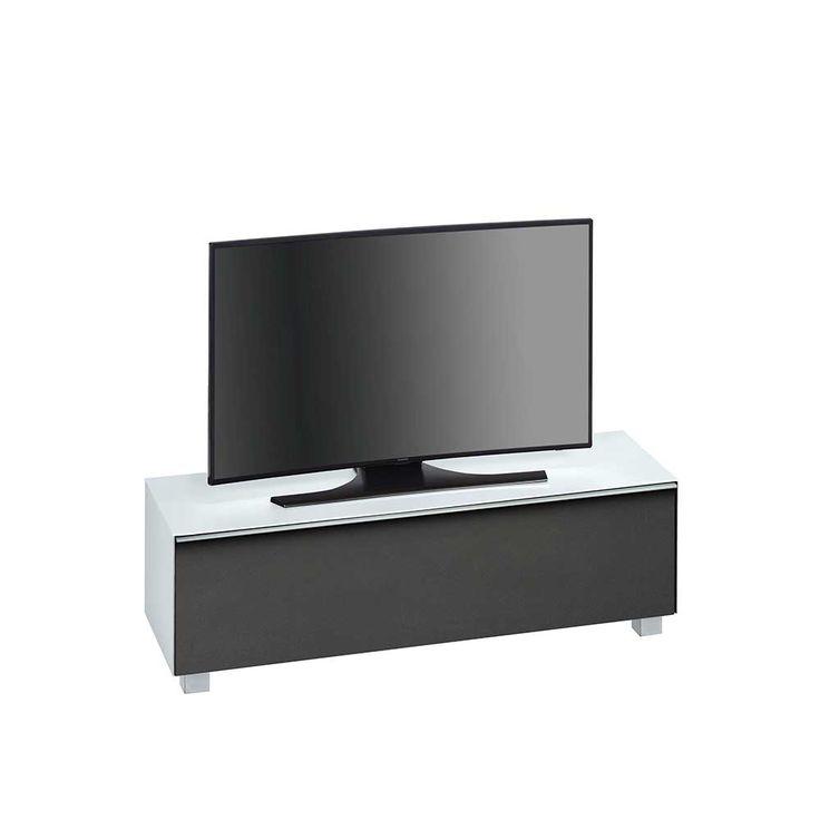 TV Board In Weiss Glas Schwarz Jetzt Bestellen Unter Moebelladendirektde Wohnzimmer Tv Hifi Moebel Lowboards Uidac6f1369 33d6 5f60 Afab
