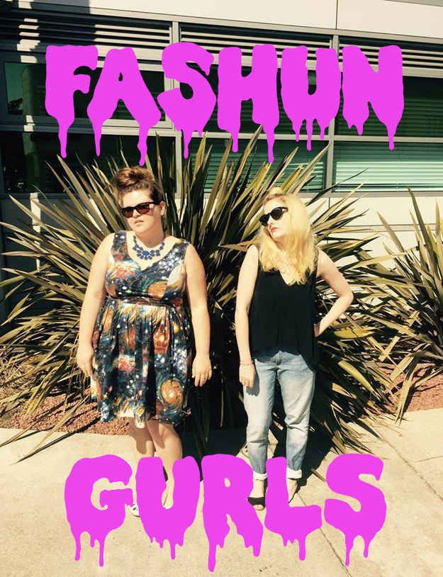 We are Kristin and Leo and sometimes we like to talk about fashion. Today, we're discussing some styles from the retailer Nasty Gal, which is sometimes known for its… interesting and strange fashions.