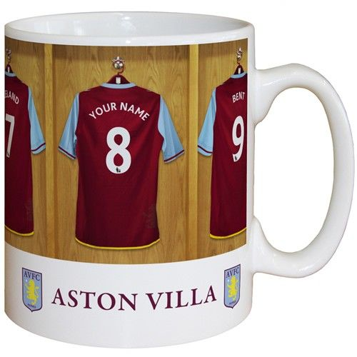 Personalised Aston Villa Dressing Room Mug  from Personalised Gifts Shop - ONLY £9.99