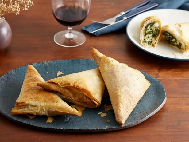 BAKE TIME/TEMP TESTED-APPROVEDGet Dinner Spanakopitas Recipe from Food Network
