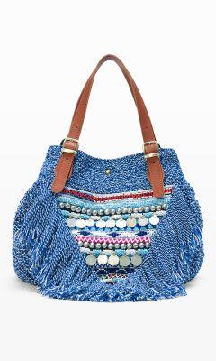 Women | Elliot Mann Beach Beaded Bag | Club Monaco