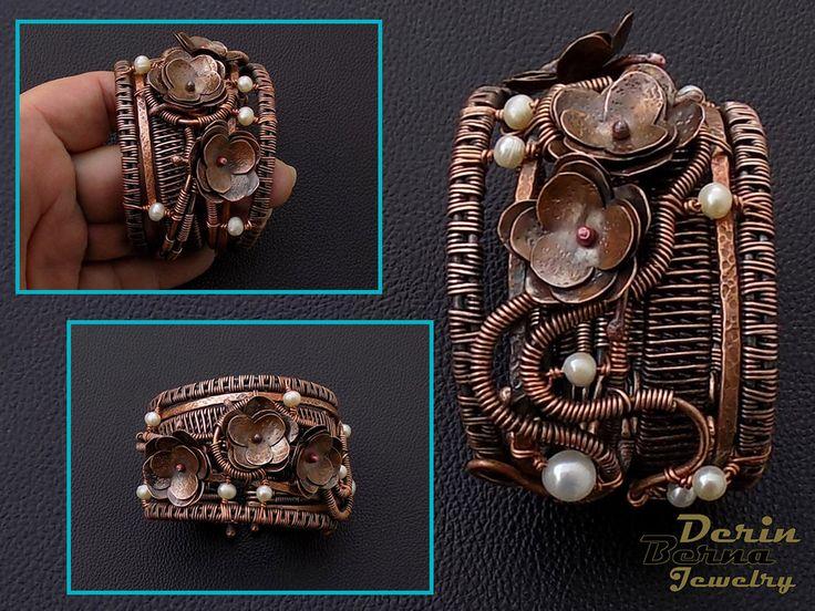 67 best Berna Derin Jewelry   Copper wire wrapped women jewelry ...