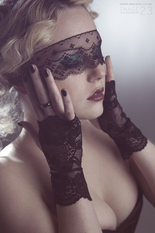 FIRST CLASS SHIPPING  Sexy Sheer Black Lace Mask / by kvodesign, $18.00