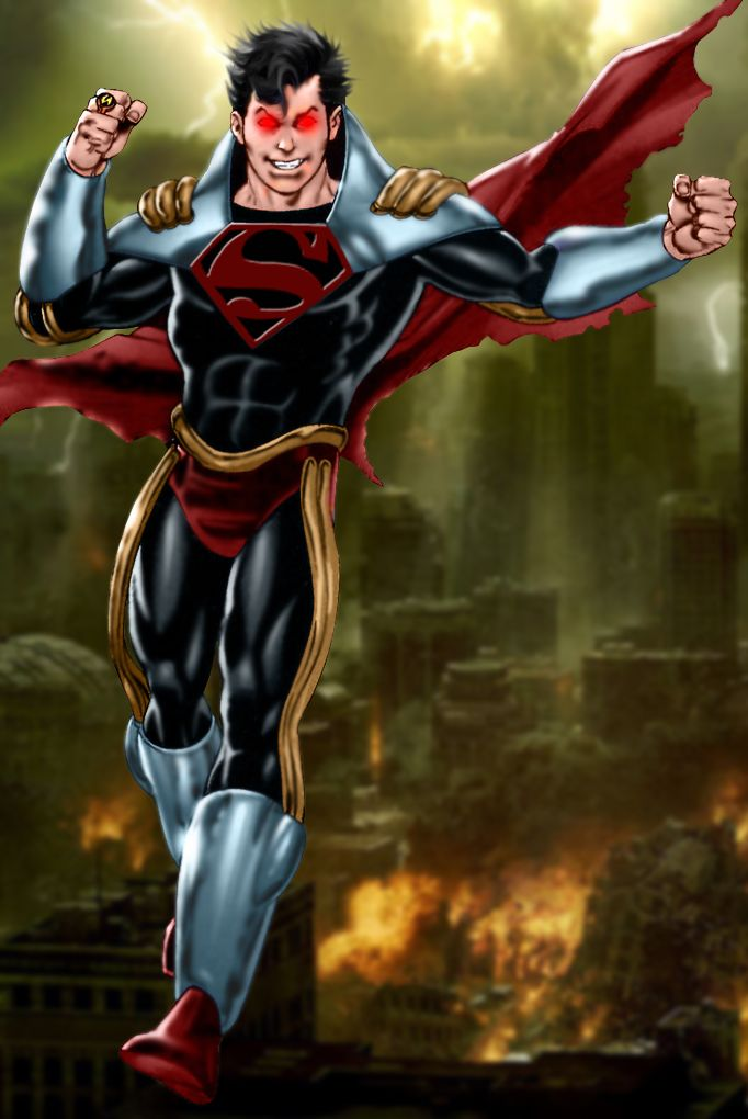 Superboy Prime by SUPERMAN3D