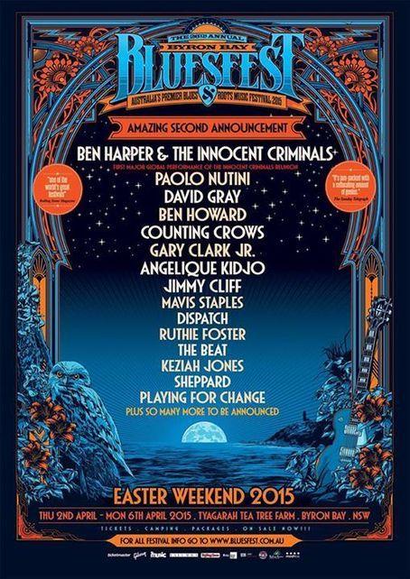 Byron Bay Bluesfest 2015