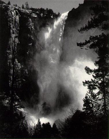 Ansel Adams Bridal Veil Falls