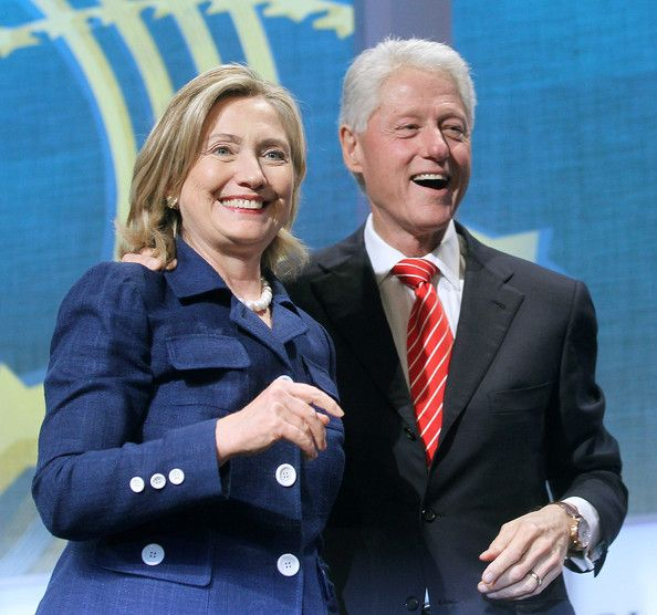 during the annual Clinton Global Initiative (CGI) September 21, 2010 in New York City. The sixth annual meeting of the CGI gathers prominent individuals in politics, business, science, academics, religion and entertainment to discuss global issues such as climate change and the reconstruction of Haiti.