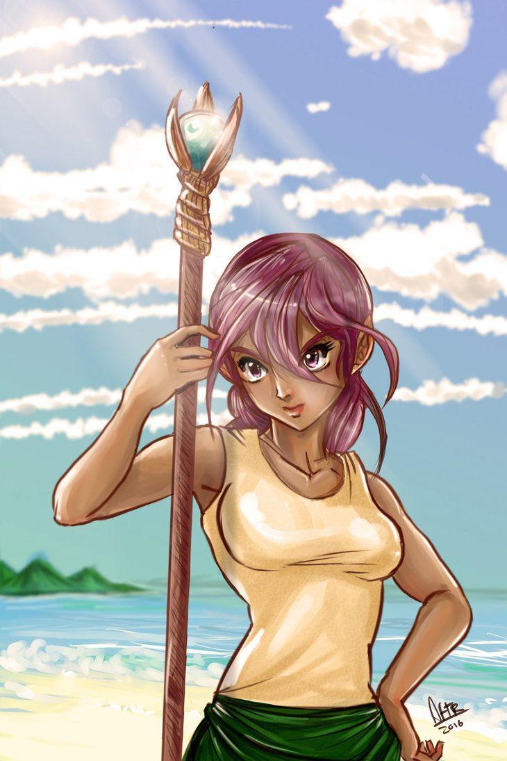 Chica del mar by Abzolutsenpai.deviantart.com on @DeviantArt