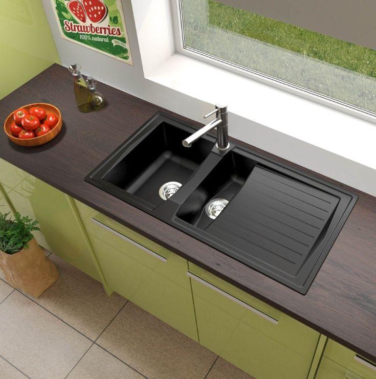Ponad 25 najlepszych pomysłów na Pintereście na temat Einbauspüle - küchenspüle mit unterschrank