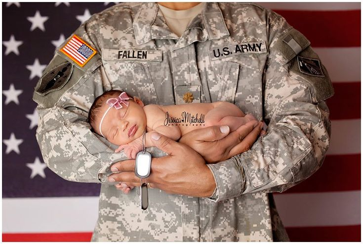 Army baby <3 except in the Navy uniform