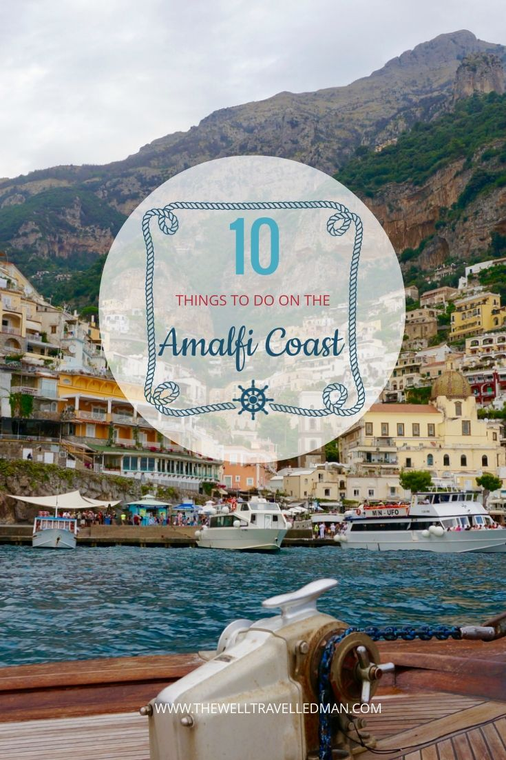 The Amalfi Coast, Italy is one of the most amazing parts of Europe! Here are our top 10 must see things to do while you're there.  Read more here
