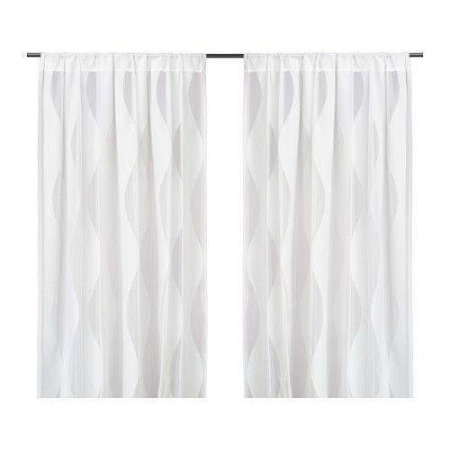 MURRUTA Net curtains, 1 pair IKEA