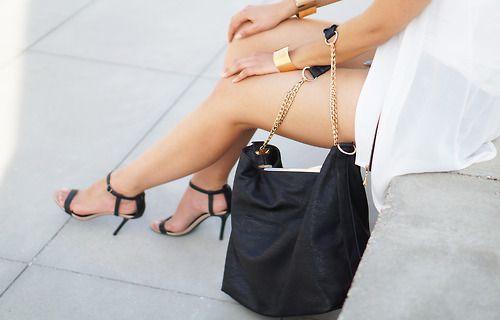 prada pravda brown bag with gold accessories