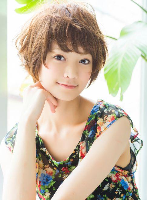リラックスショートボブ  【killa】 http://beautynavi.woman.excite.co.jp/salon/26182?pint ≪ #shorthair #shortstyle #hairstyle  #shorthairstyle・ショート・ヘアスタイル・髪形・髪型≫