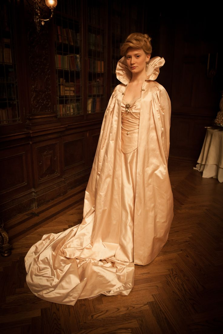 innocent in a flowing white nightgown | Crimson Peak in theaters 10.16.15: