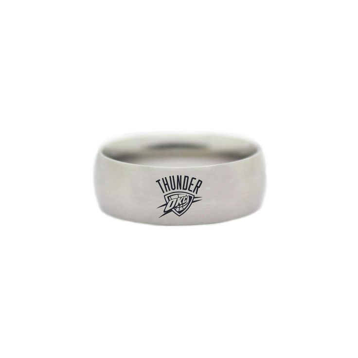 Oklahoma City Thunder Ring - NBA Wedding Band