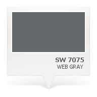 SW 7075 - Web Gray