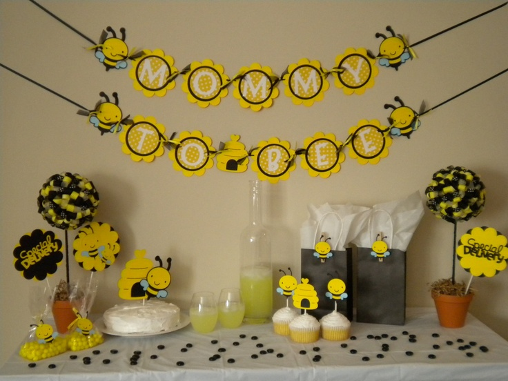 Mommy To Bee Shower Ideas Okay If I Ever Have A Baby This Is The Theme Want