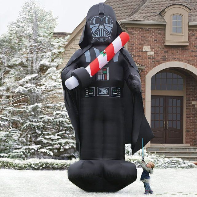 Fancy - 16-Foot Inflatable Christmas Darth Vader