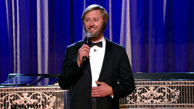 Rory Scovel on Conan in September. So classy