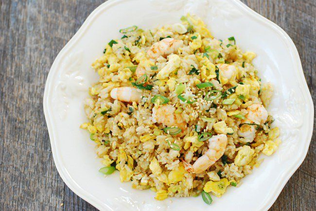 Egg Fried Rice Gyeran Bokkeumbap Korean Bapsang Fried Rice Chicken Rice Recipes Fried Rice Recipe Easy
