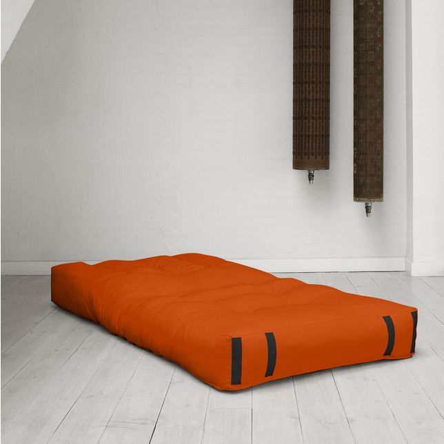Furniture Admirable Contemporary Sofa Beds Transform Called Hippo Convertible Futon Chair Bed With Orange Mattress