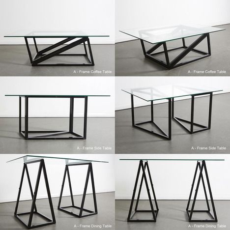 1000 images about cocktail table to dining table on pinterest space saving - Table basse depliante ...