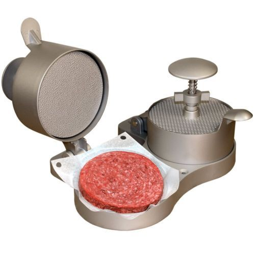 Burger Presses 178051: New Double Hamburger Maker Press With Patty Ejector Non Stick Thickness Burger -> BUY IT NOW ONLY: $49.99 on eBay!