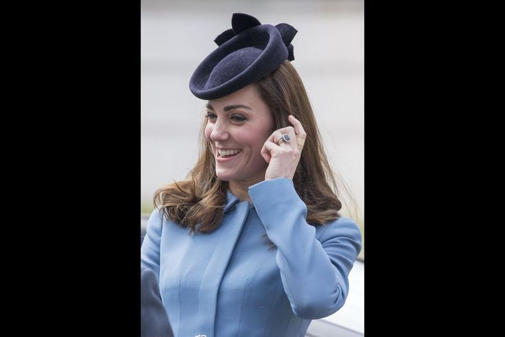 The British Royal Courts: Catherine Duchess of Cambridge at the 75th anniversary of the Royal Air Cadets