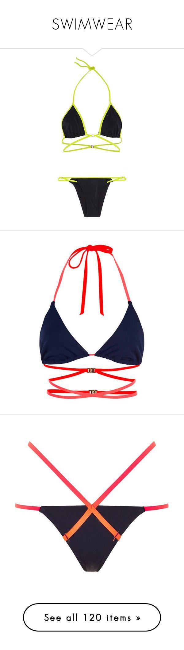 """SWIMWEAR"" by aitanas-closet ❤ liked on Polyvore featuring swimwear, bikinis, bikini, cutout swimwear, triangle swimwear, gold triangle bikini, triangle bikinis, gold bikini, bikini tops and tops"