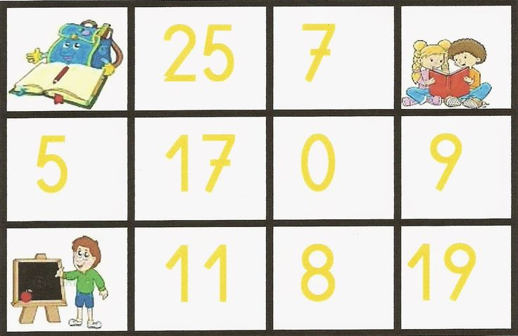 Recursos para Docentes: Bingo de Números