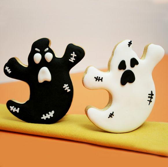 #galletas #troqueladas #fantasmas #halloween #31deoctubre