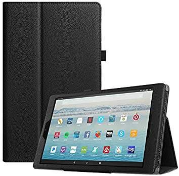 fcd8a31f6cb Fintie Folio Case for All-New Amazon Fire HD 10 Tablet (7th Generation