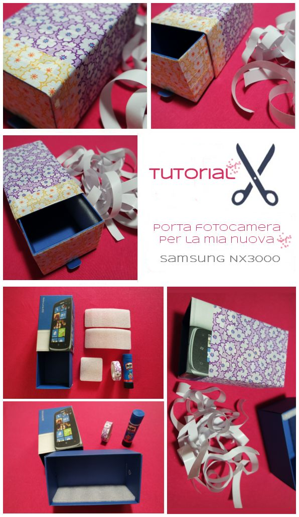 Sweet Dirty Life: Tutorial: custodia fotocamera