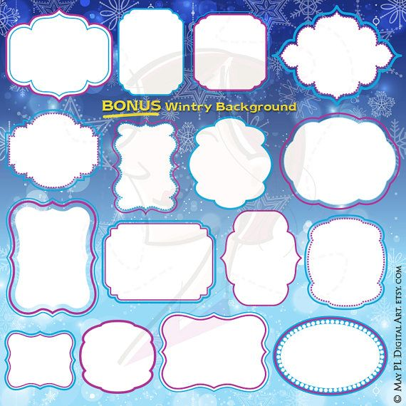 Check out this item in my Etsy shop https://www.etsy.com/au/listing/258035068/frozen-digital-frames-winter-clipart-diy